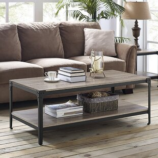 Cainsville Coffee Table & Farmhouse \u0026 Rustic Coffee Tables   Birch Lane