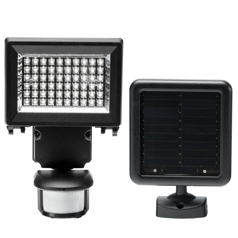 Jiawei Technology Duracell Led Solar Battery Operated Outdoor Security Flood Light With Motion Sensor Wayfair