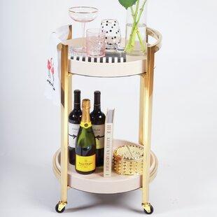 Silva Bamboo Bar Cart