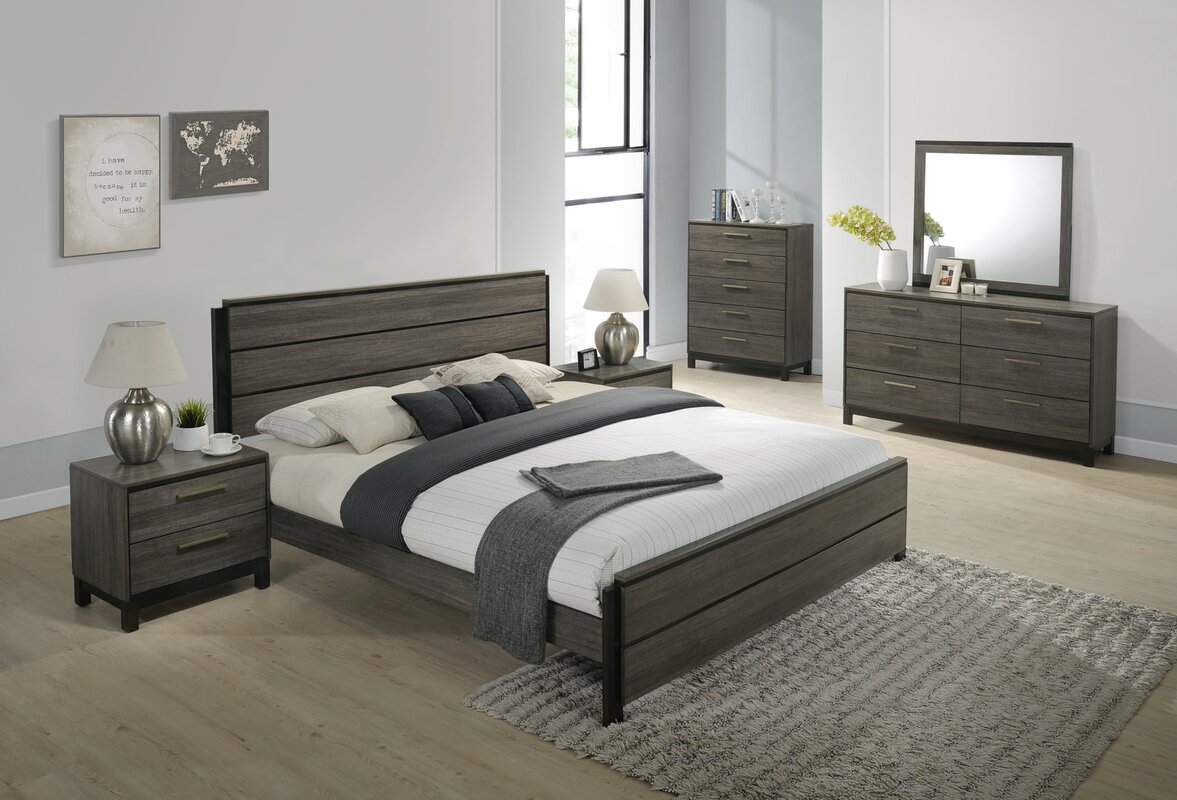 Perfect Mandy Platform 6 Piece Bedroom Set