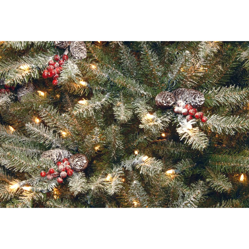 53980039af8ba Dunhill Fir Slim 4.5  Hinged Artificial Christmas Tree with 350 Clear Lights