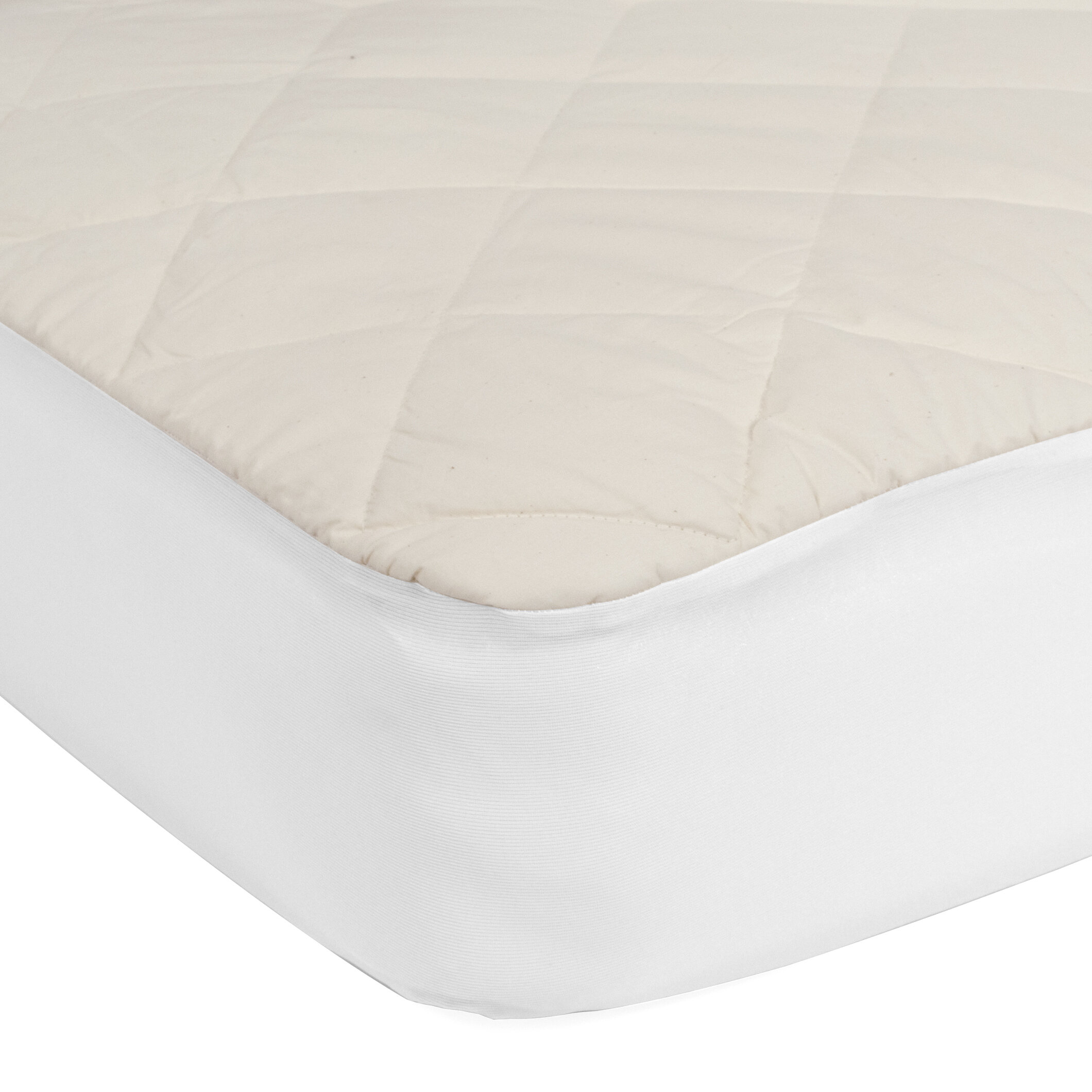 Very Helpful Crib Mattress Pad Sealy Quilted Crib Mattress Pad u0026 Reviews | Wayfair