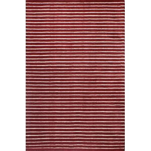 Grayville Red Area Rug