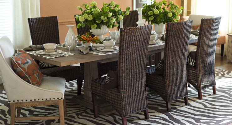 Excellent Decorate A Transitional Dining Room Wayfair Home Interior And Landscaping Synyenasavecom