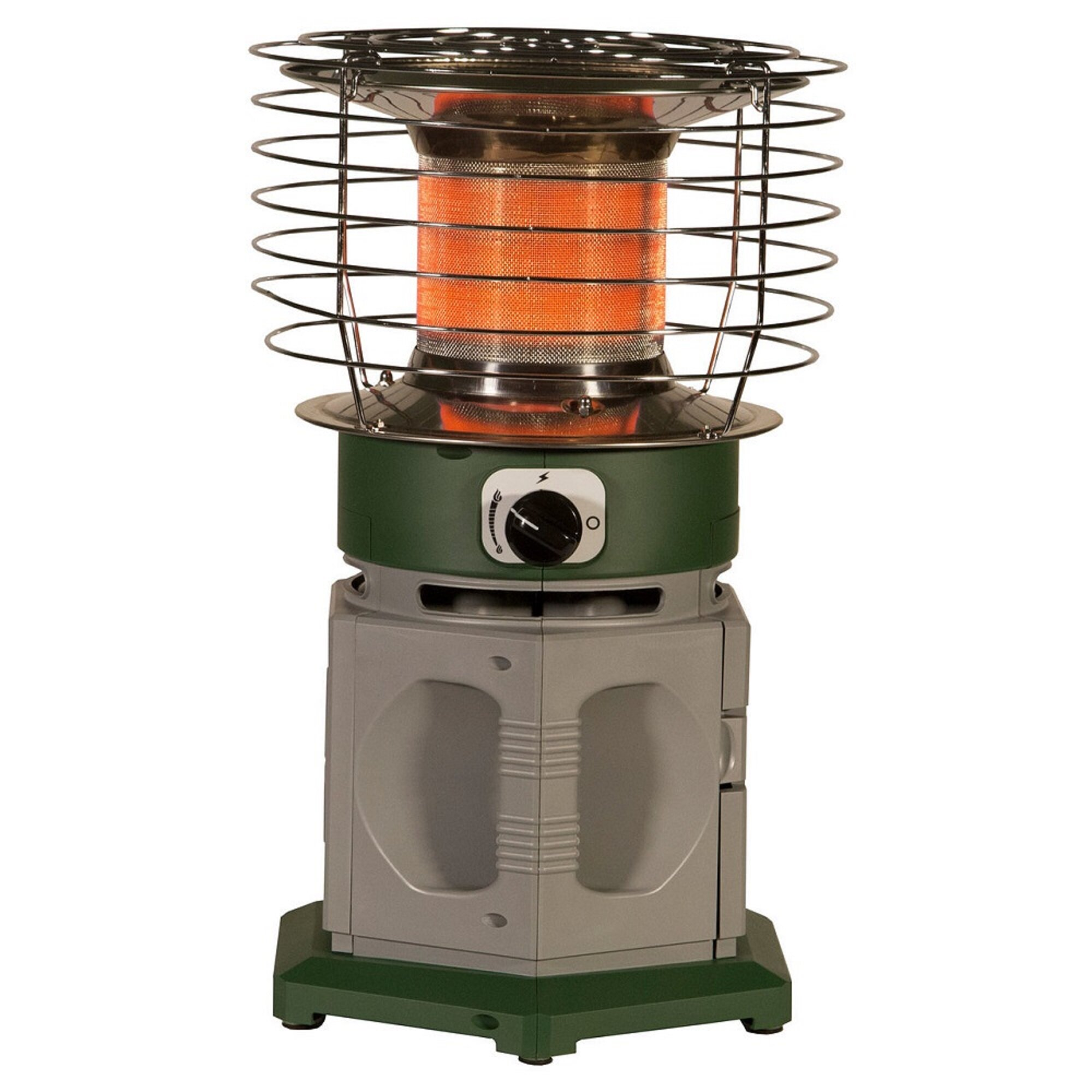 Propane Radiant Heater >> Dura Heat Double Tank Portable 18 000 Btu Propane Radiant Radiator Heater