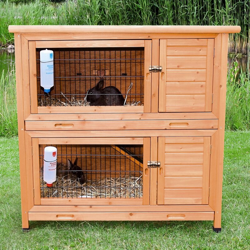 natura 2in1 small animal hutch
