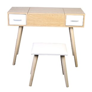 . Modern   Contemporary Makeup Vanity Table Chair   AllModern