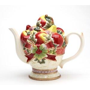 Victorian Harvest Teapot