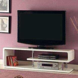 White High Gloss Tv Stand Wayfair
