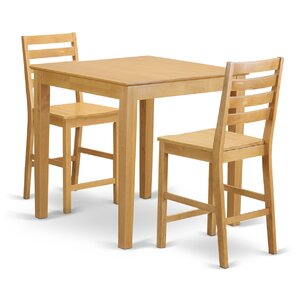 3 Piece Counter Height Pub Table Set by W..