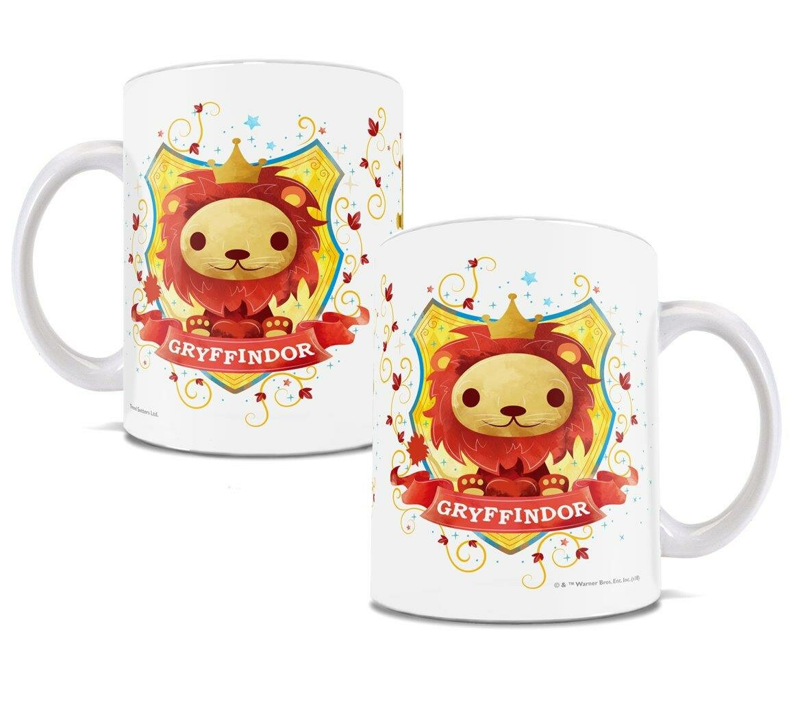 Trend Setters Harry Potter Gryffindor Chibi Cute Geek Coffee Mug ...