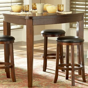 Bannister Triangle Counter Height Table