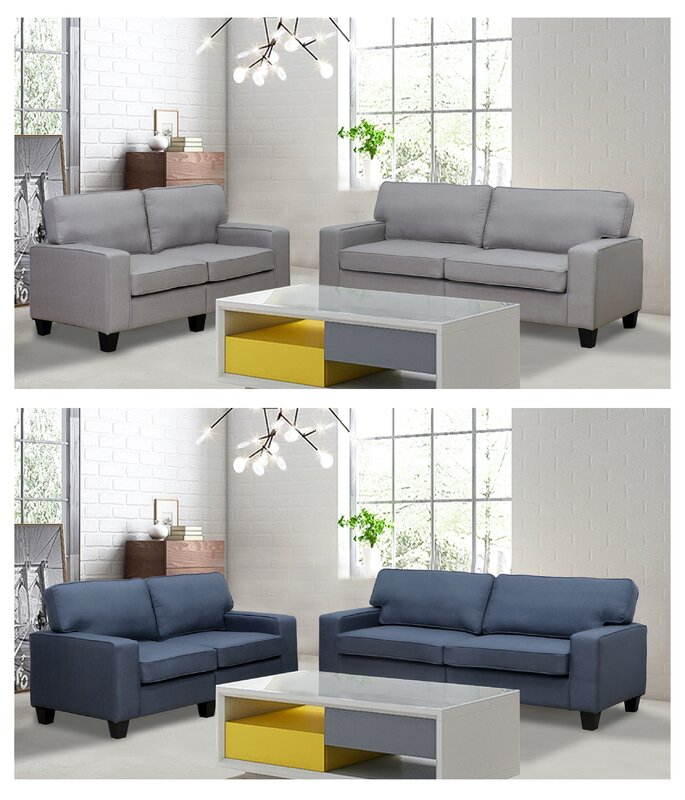 Bittle 2 Piece Living Room Set