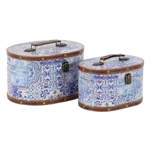 Merveilleux Decorative Storage Suitcase | Wayfair