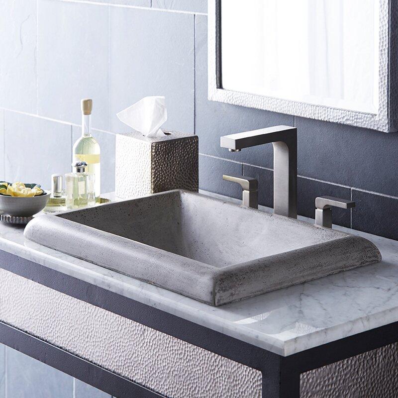 Native Trails Montecito Stone Rectangular Drop In Bathroom Sink Reviews Wayfair