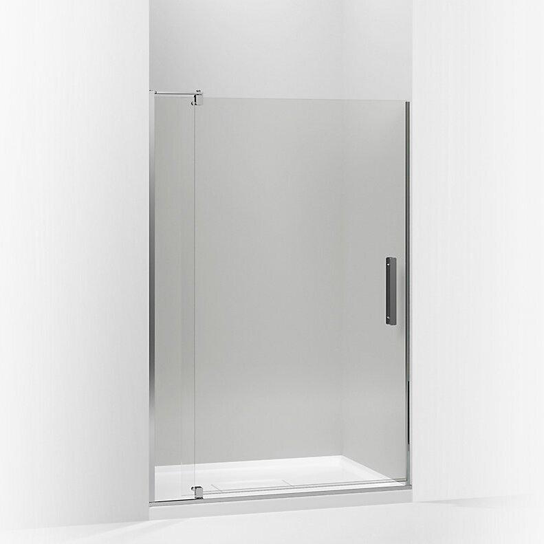 K-707541-L-ABZ,BNK,SHP Kohler Revel 44\'\' x 70\'\' Pivot Shower Door ...