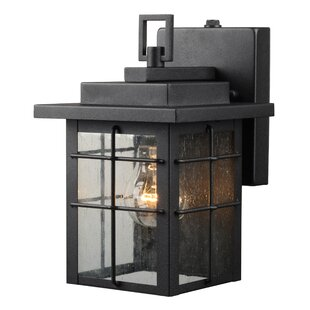 Photocell included outdoor wall lighting youll love wayfair 1 light outdoor wall lantern workwithnaturefo