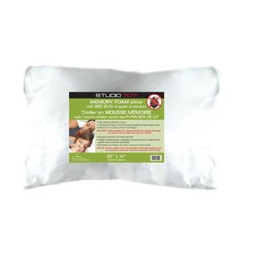 Memory Foam Pillow with Bed Bug Wrapper Protection by Alwyn Home
