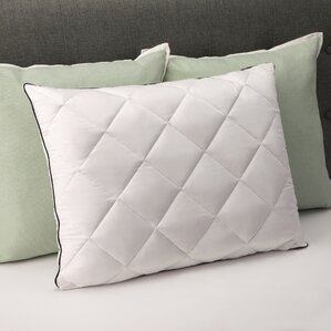 Plush Quilted Bed Memory Foam Standard Pillow by Luxury Home