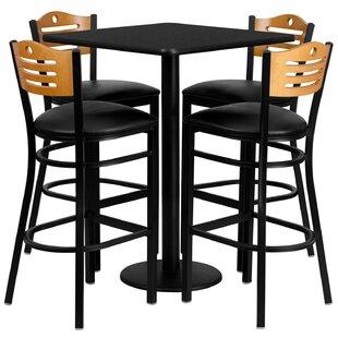 Lomonaco 5 Piece Pub Table Set Find