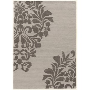 Coggins Hand-Tufted Gray Area Rug