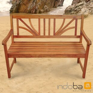 Lotus Wooden Bench