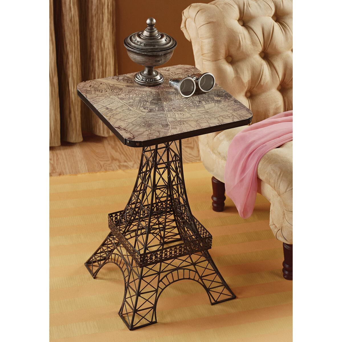 Ordinaire Design Toscano Tour Eiffel Sculptural Side Table U0026 Reviews | Wayfair