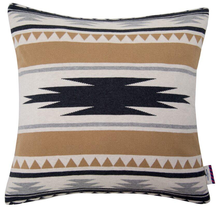 tom tailor kissenh lle strick t ethno aus baumwolle. Black Bedroom Furniture Sets. Home Design Ideas