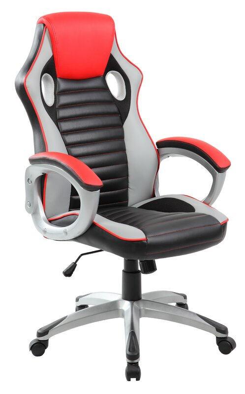 united chair industries llc high-back pu executive racing style