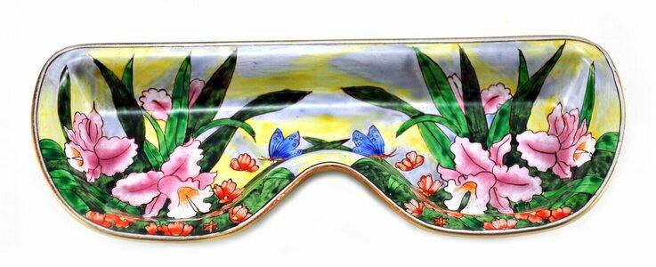 Lily & Butterfly Eyeglass Holder