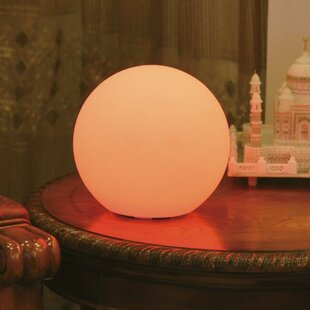 Battery operated table lamps youll love wayfair indooroutdoor full moon table lamp mozeypictures Image collections