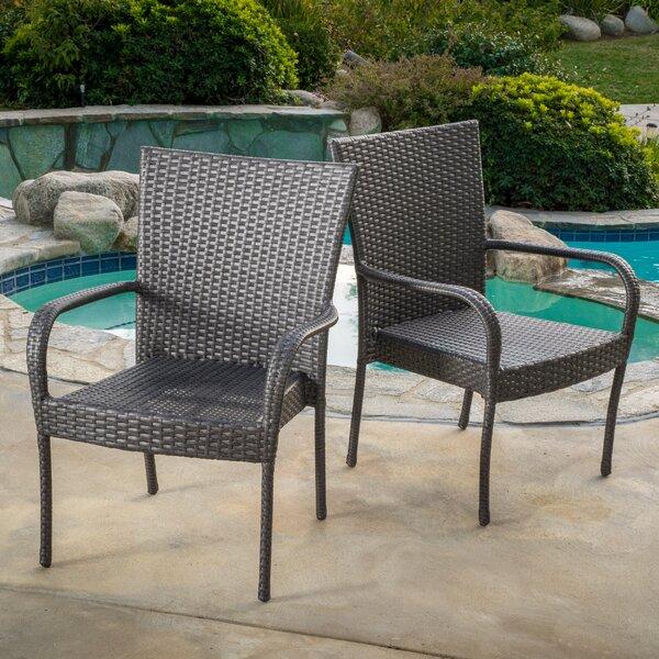 Amazing Mercury Row Hawes Outdoor Wicker Chair U0026 Reviews | Wayfair