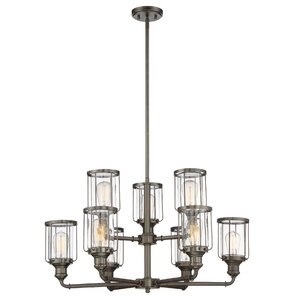 Adriana 9-Light Candle-Style Chandelier