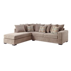 Santos 102  Reversible Chaise Sectional  sc 1 st  Joss u0026 Main : chenille sectional sofa - Sectionals, Sofas & Couches