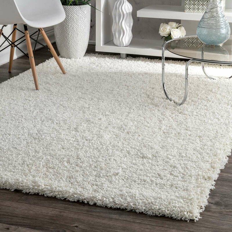 Area Rugs willa arlo interiors welford white area rug & reviews | wayfair