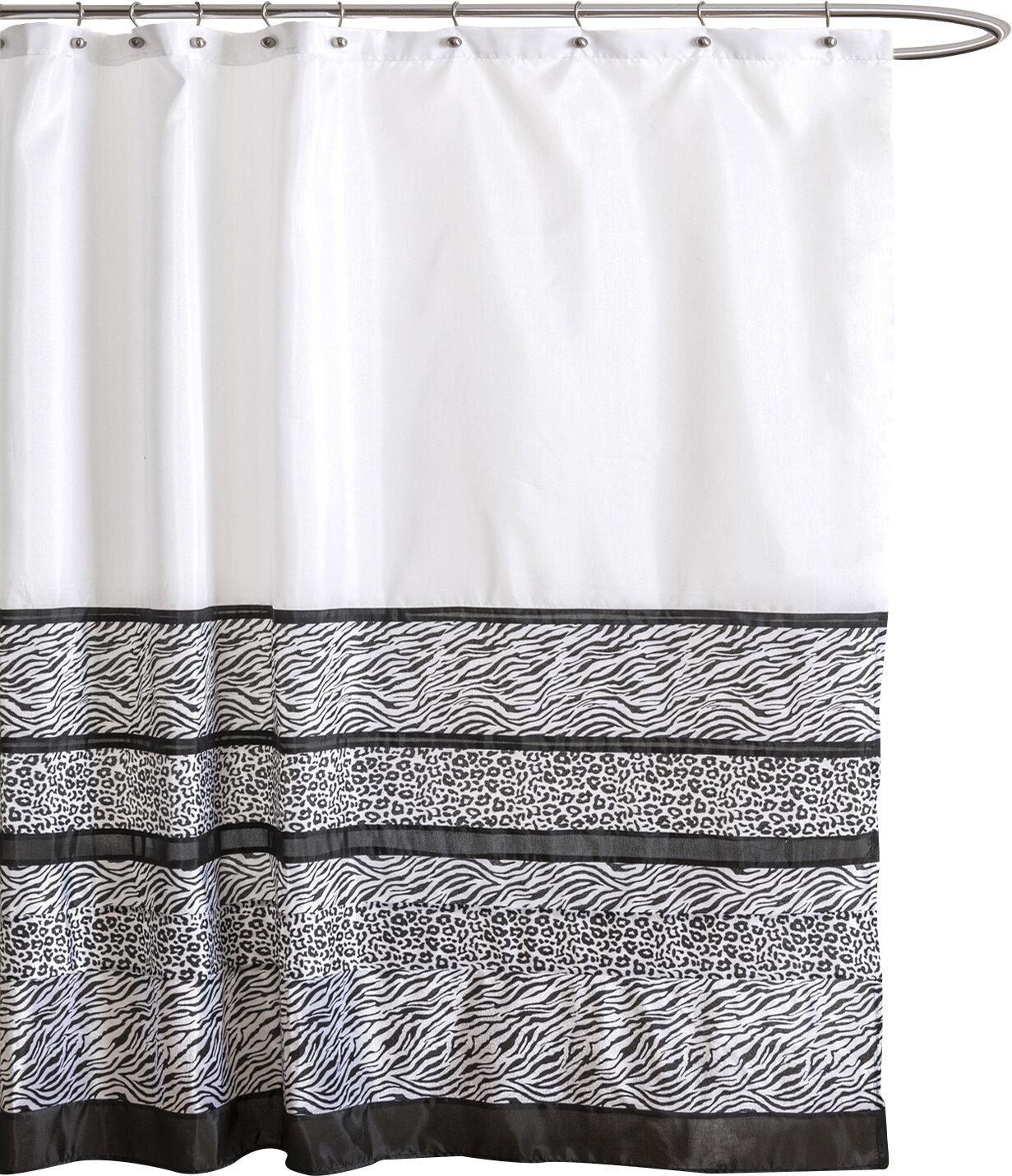 Lush Decor Tribal Dance Shower Curtain