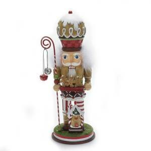 Hollywood Gingerbread with Cookies Nutcracker