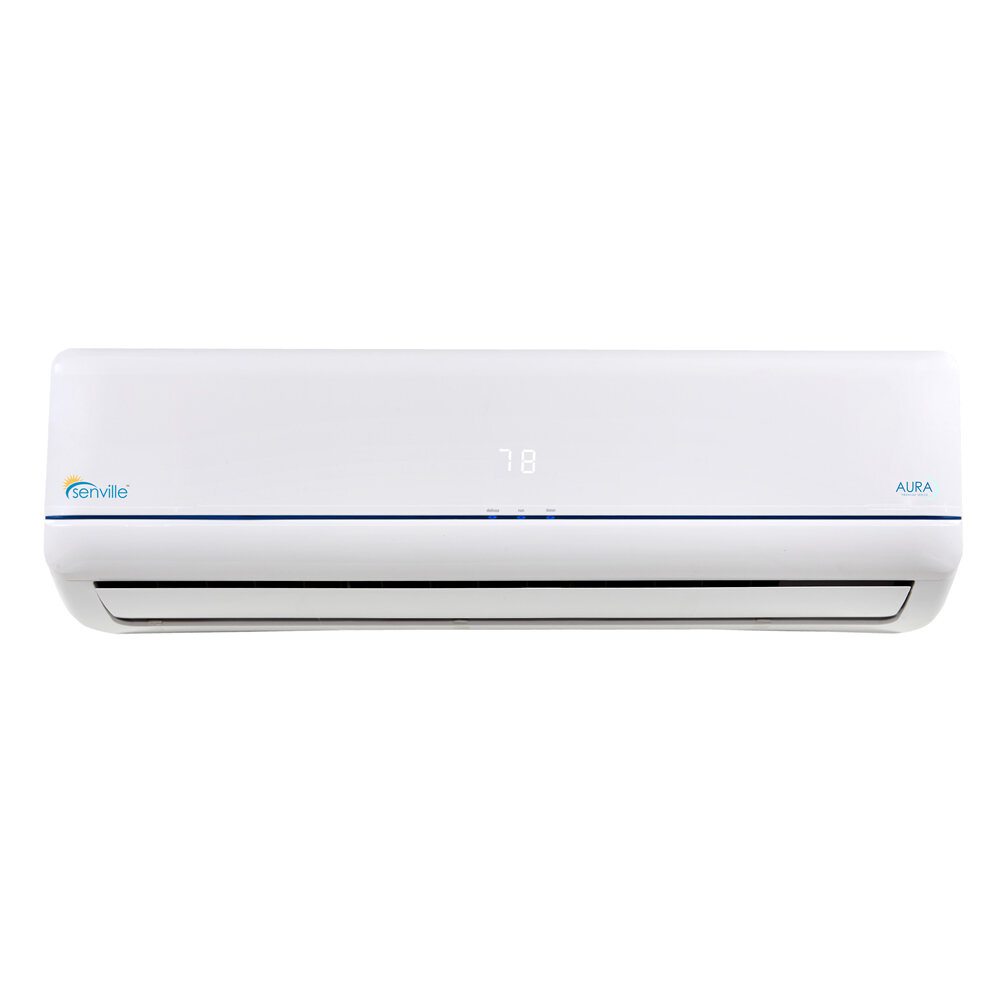 Senville Aura 36,000 BTU Energy Star Ductless Mini Split Air Conditioner  with Remote | Wayfair