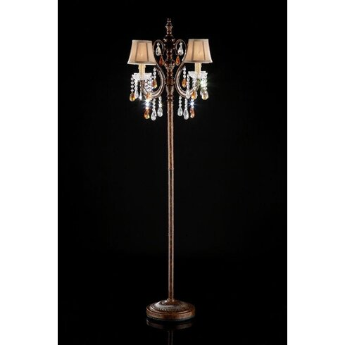 Ok lighting 6425 candelabra floor lamp wayfair 6425 candelabra floor lamp aloadofball Images