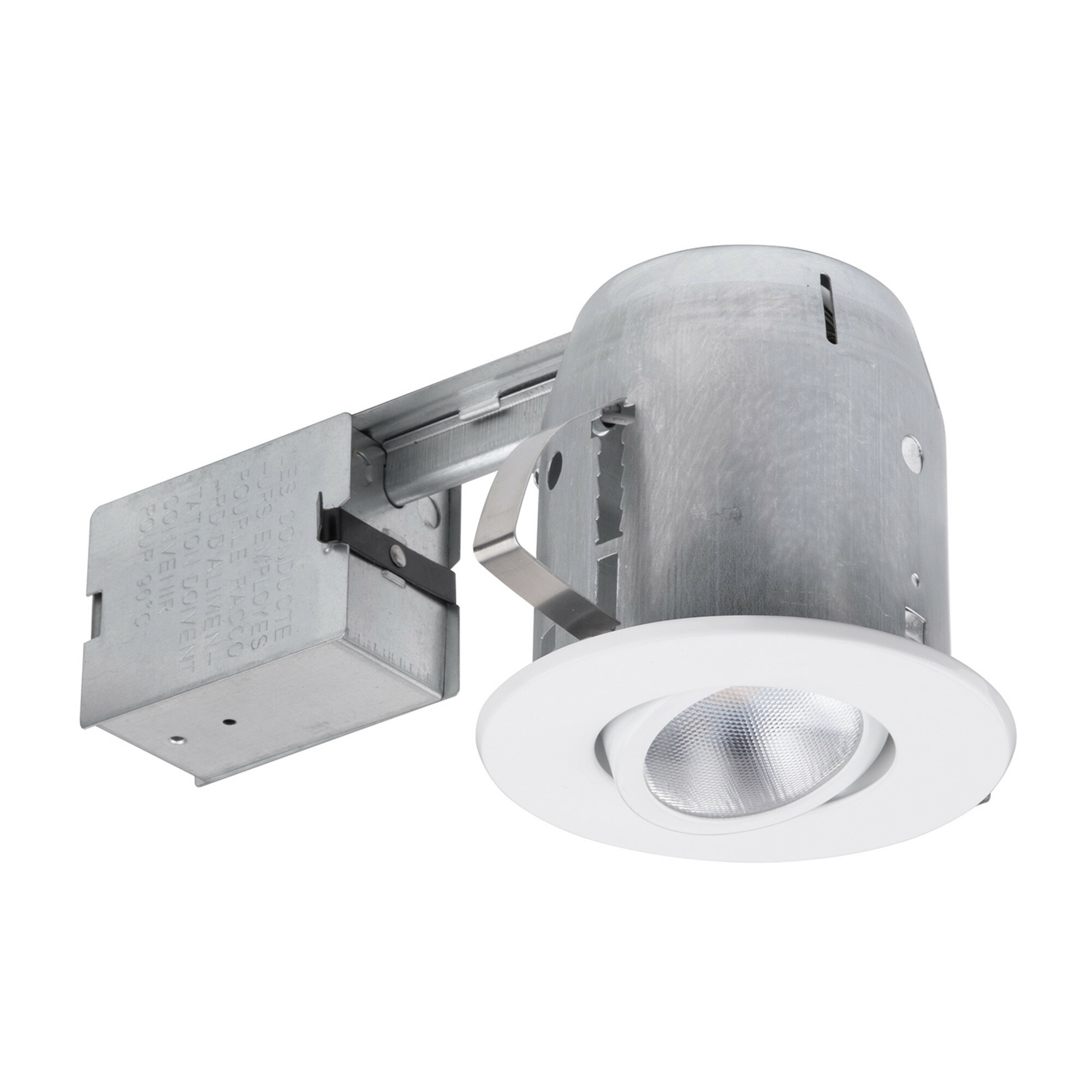 90746 Swivel Round Trim 4 Recessed Lighting Kit