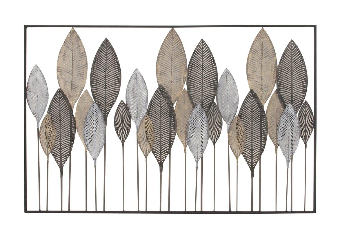 Metal Leaf Wall Décor