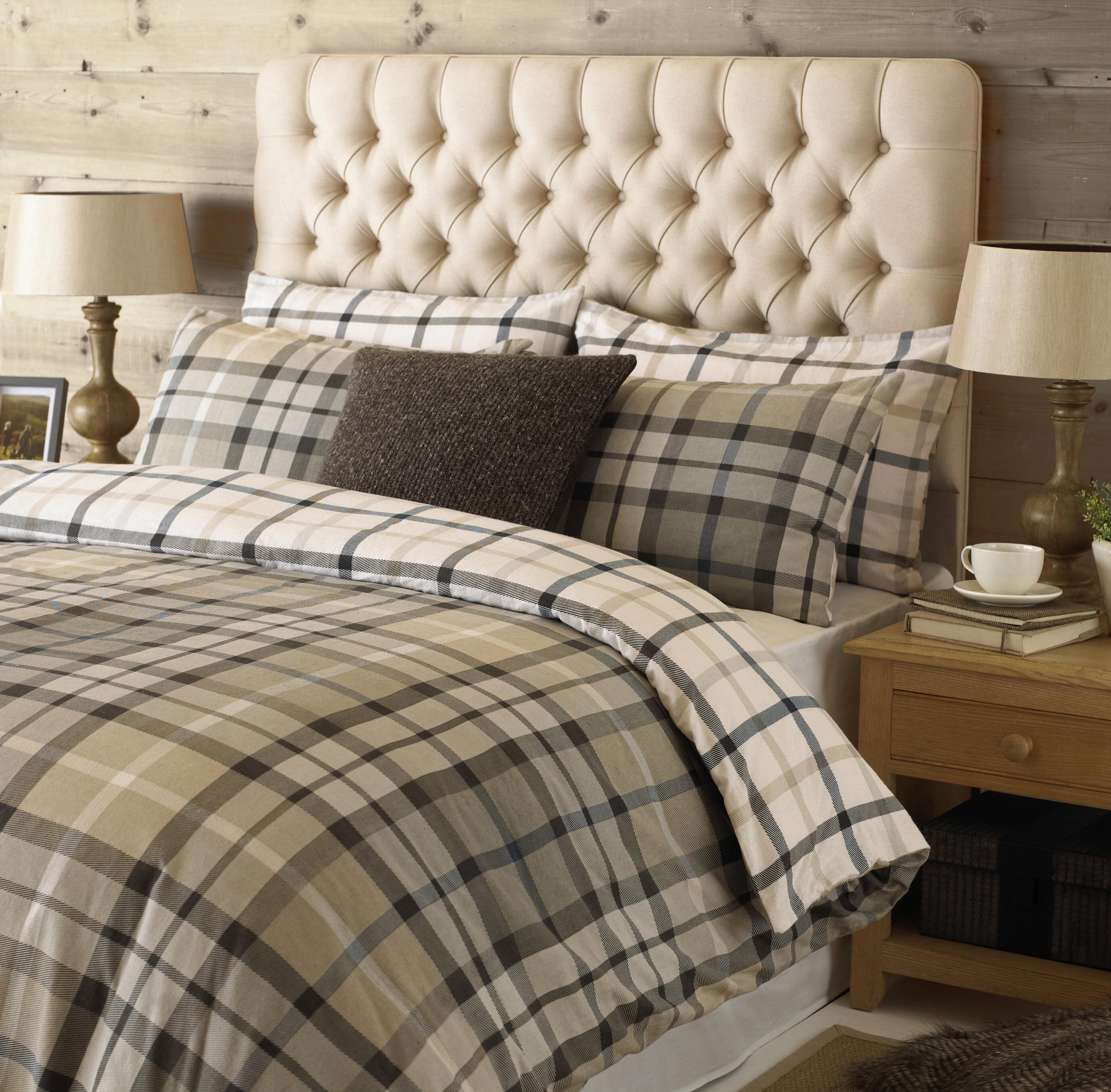 0b9ad1dd428b Alpen Home Idina Brushed Cotton Duvet Cover Set & Reviews   Wayfair.co.uk