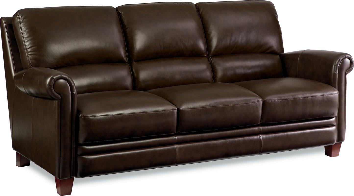 La-Z-Boy Julius Leather Sofa & Reviews | Wayfair