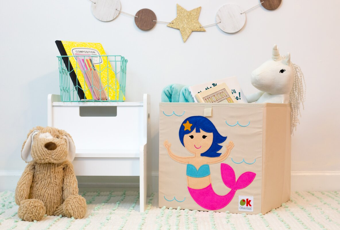 Olive Kids Mermaids Toy Box