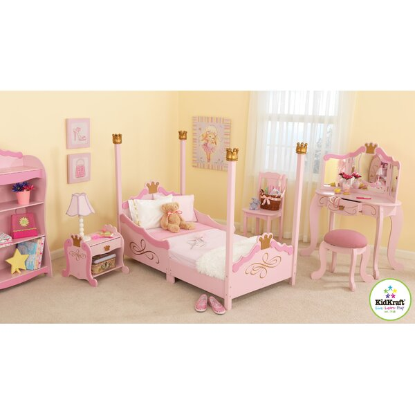 kidkraft princess toddler four poster configurable bedroom set rh wayfair com kid bedroom sets toddler bedroom set canada