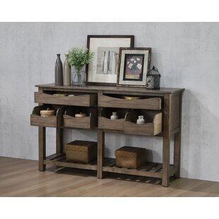 Montezuma 6-Drawer Buffet Table