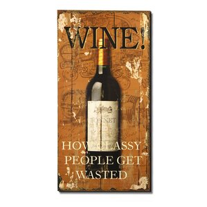 Wine Wall Decor vintage wine wall decor | wayfair