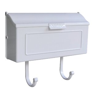 Horizon Horizontal Wall Mounted Mailbox