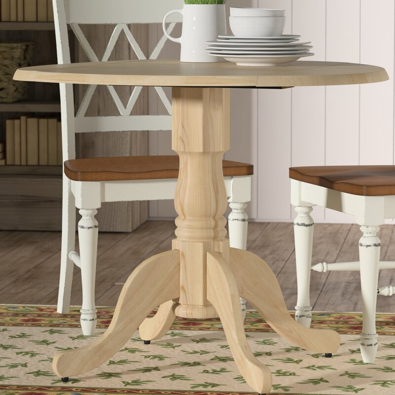 Toby Dining Table With Dual Drop Leaf