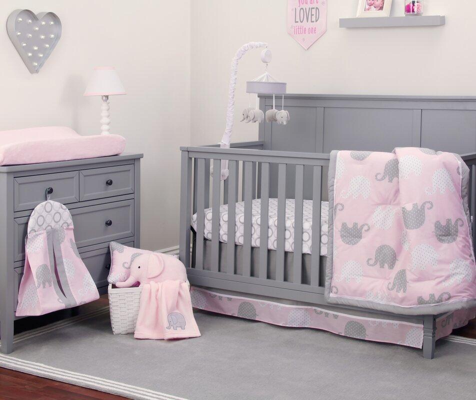 NoJo Dreamer 8 Piece Crib Bedding Set & Reviews | Wayfair
